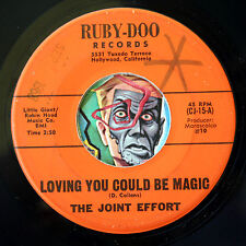 HEAR Joint Effort 45 Coming Home/Loving You RUBY-DOO 15 psych garage folk pop