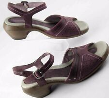 Merrell Luxe strap VIola open toe sandals purple leather womens sz 7 M preowned