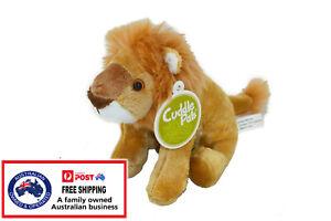 1 X PLUSH LION 23CM teddy tiger soft toy stuffed Lion King doll christmas cuddly