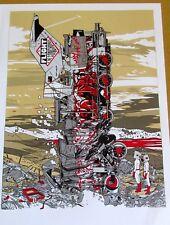 Flight of the Conchords Concert Mini Poster Reprint for 2009 Portland Oregon Gig
