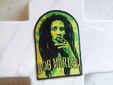 Tie Dye Bob Marley Festival Smoking Music Embroidered Iron On Patches Patch