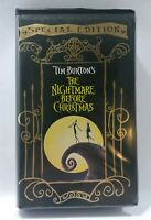 Disney Tim Burton's The Nightmare Before Christmas Special Edition VHS CLAMSHELL