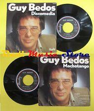 LP 45 7''GUY BEDOS Discomedia Machotango 1978 france BARCLAY 62 554 * cd mc dvd