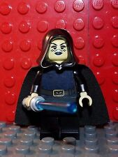 Lego Star Wars Barriss Offee Minifigure w/ Blue Lightsaber 8091 FREE SHIPPING
