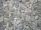 200 Generic Stone Gray 2x4 Brick blocks sn 3001 Bulk Lot +1 lego pc
