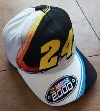 Nascar 2000 NASCAR Snapback Embroidered Hat W Jeff Gordon Multi Color #24snpbck