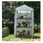 D13 Portable Reinforced Garden Large Frame Shelves Cover Cold Grow Greenhouse