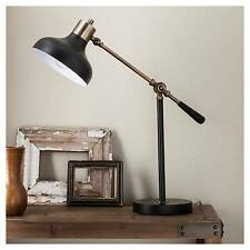 Crosby Schoolhouse Desk Lamp - Black - (Includes CFL Bulb) - Threshold™