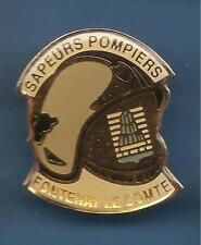 Pin's pin CASQUE des SAPEURS POMPIERS DE FONTENAY LE COMTE  (ref B)