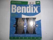 Pastilla de freno Bendix motorrad Aprilia 125 AF1 1989 - 1991 MA101 par plaq
