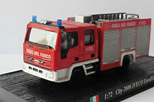 POMPIER IVECO MAGIRUS 2000 CITY EUROFIRE 115 DELPRADO 1/72 VIGILI DEL FUOCO