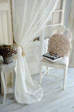Van Deurs Gardine Rose Offwhite 200 x 250 Landhaus Shabby Chic Vintage