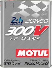 OLIO MOTORE MOTUL 300V LE MANS 20W60 100% synthetic 2L