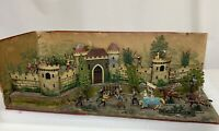 Antique CBG Mignot France Joan of Arc Diorama Lead Toy Figurines  - 81435
