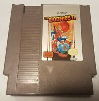 The Goonies II 2 NES Nintendo Entertainment System Authentic Game Pak Tested