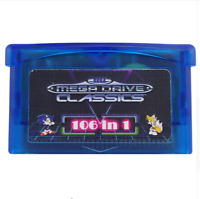 GBA SMS 106 in 1 game card boxed mega drive for Sega Master System for Nintendo