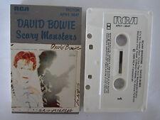 DAVID BOWIE SCARY MONSTERS AUSTRALIAN RELEASE 1980 CASSETTE TAPE