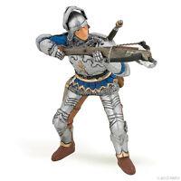 Armbrustschütze mit Rüstung blau 8 cm Ritter und Burgen Papo 39753