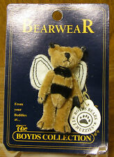 Boyds Plush Bearwear Pin #599910-08 Tinger F. Wuzzie, New/tags From Retail Store