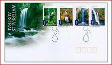 AUS0824FDC Waterfalls FDC