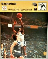 "Kentucky Wildcats Vs Duke 1978 NCAA Tournament Sportscaster 6.25"" Card 36-22"