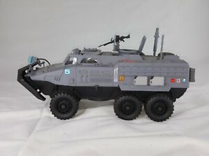 CUSTUM Gi Joe Elite Force True Heroes Rhino Amphibious APC Vehicle w Figure