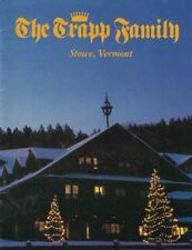 Trapp Family Photos Stories 1984 Trapp Lodge a bit of Austria in Stowe Vermont