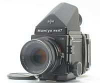 [Near MINT] Mamiya RB67 Pro S Camera + Sekor C 127mm f/3.8 + SD Back From JAPAN