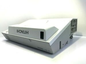 HITACHI CP-AX2505 HDMI LCD Projector - Lamp Hours Used: 22