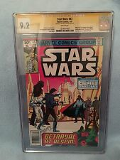 Star Wars #43 (Jan 1981, Marvel) CGC SS 9.2 SIGNED BY Michel Golden Newsstand ED