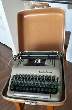 Nice Vintage Smith Corona Super Silent Typewriter Original Case  Working