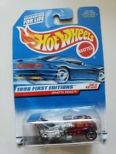 HOT WHEELS 1998 FIRST EDITIONS #36 WHAATA DRAG DIECAST 1:64 MATTEL 1997 NEW! MOC