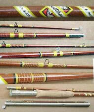 Vntg 2-Piece 8' Wright & McGill SWEETHEART Glass Fly Rod No. 2A + Original Tube