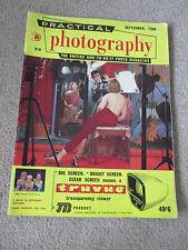 Practical Photography Magazine September 1960.