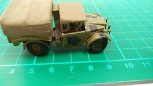 WW2 Truck German Krupp Protze Tuck Kfz 70 White Metal Toy Lorry Built Army