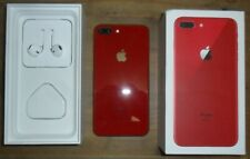Iphone 8 plus limited edition in red on EE 64 GB in original box Near mint