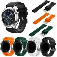 Deportivo Silicona Reloj Pulsera Correa Pour Samsung Gear S3 Frontier & Classic