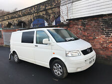 2007 VOLKSWAGEN TRANSPORTER T5 T30 1.9 TDI LWB CAMPER DAMAGED REPAIRABLE SALVAGE