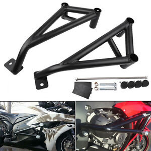 LoraBaber Motorcycle Accessories CBR1000RR CBR 1000RR CBR 1000 RR 2006 2007 Anti Crash Pad Protector For H-o-n-d-a CBR1000 RR Frame Slider Black