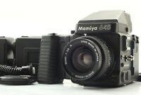 【MINT】 Mamiya M645 Super Medium Format Sekor C 55mm F/2.8 N 3 Film Back JAPAN