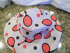 Reversible tennis bucket hat