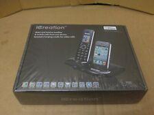 iCreation i-700 Bluetooth Cordless Phone System with iPhone Docking Base