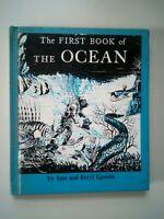The First Book Of The Ocean By Sam And Beryl Epstein 1961 Hardcover EX-LIBRARY