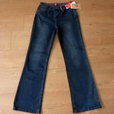 Joe Browns Ladies Straight Leg Stretchy Blue Jeans Size UK 8R NEW