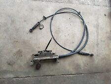 MG TF Gear Selector And Both Cables