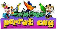 Disney Cruise Parrot Cay Restaurant Scrapbook Paper Die Cut Piece