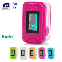 Fingertip Pulse Oximeter Spo2 PR Monitor Blood Oxygen Monitor Lanyard Update A+