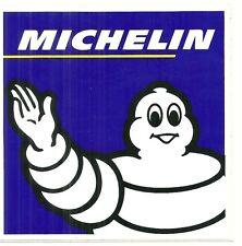 AUTOCOLLANT - MICHELIN : BIBENDUM / CARRE 10,5 cm x 10,5 cm / STICKERS