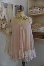 Jeanne d´Arc Living Kleid Hängerchen Trägerkleid Tea Rose Spitze Shabby Vintage