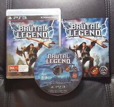 Brutal Legend (Sony PlayStation 3, 2009) PS3 Game - FREE POST
